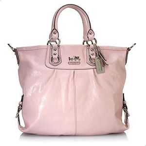 Authentic Light Pink Coach Madison Juilanna Tote